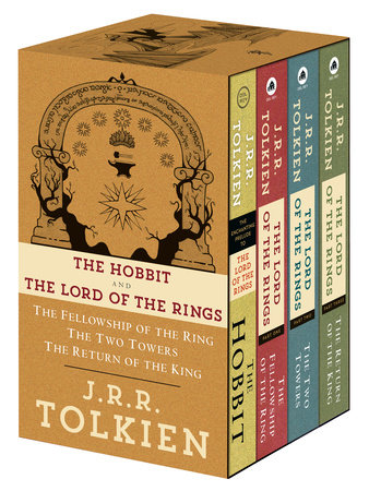 J.R.R. Tolkien 4-Book Boxed Set: The Hobbit and The Lord of the Rings (Movie Tie-in) by J.R.R. Tolkien