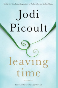 Leaving Time (with bonus novella Larger Than Life)