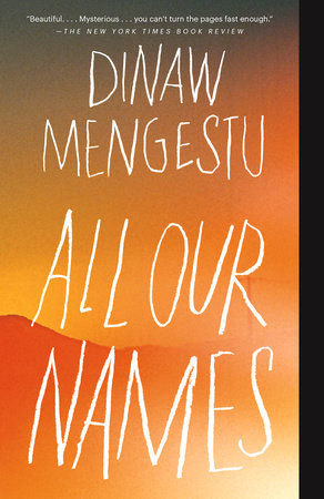 All Our Names Book Cover Picture