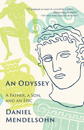 The cover of the book An Odyssey