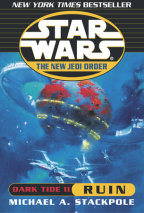 Star Wars: The New Jedi Order: Dark Tide II: Ruin Cover