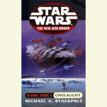 Star Wars: The New Jedi Order: Dark Tide 1: Onslaught Cover