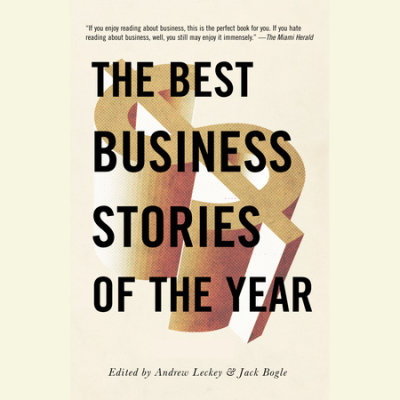 The Best Business Stories of the Year 2001 cover