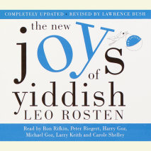 The New Joys of Yiddish Cover