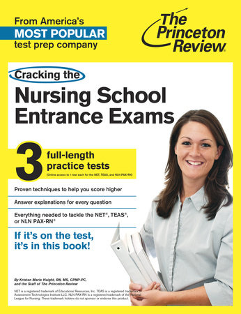 Cracking the Nursing School Entrance Exams by Princeton Review