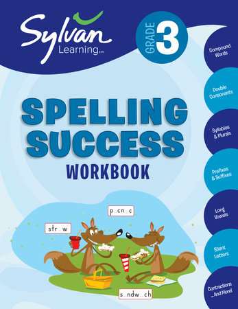 3rd Grade Spelling Success Workbook By Sylvan Learning