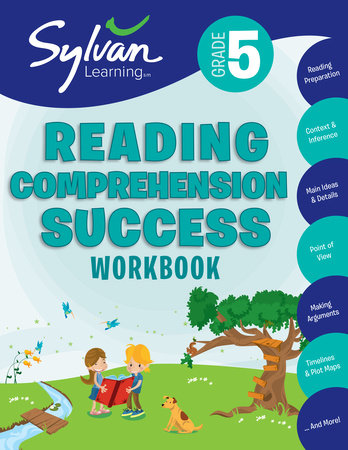 5th Grade Reading Comprehension Success Workbook by Sylvan Learning