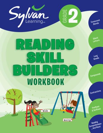 2nd Grade Reading Skill Builders Workbook by Sylvan Learning
