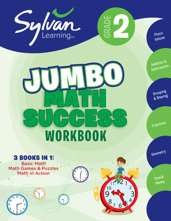 graphic relating to Home and Family Christmas Workbook identify 2nd Quality Jumbo Math Results Workbook as a result of Sylvan Understanding: 9780375430503  : Publications