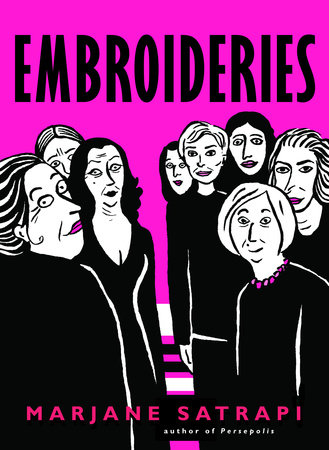The cover of the book Embroideries