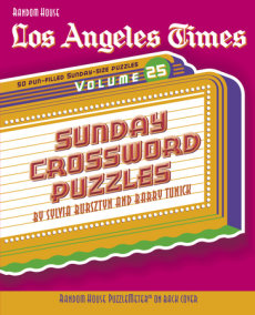 Los Angeles Times Sunday Crossword Puzzles, Volume 25