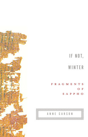 If not winter by sappho penguinrandomhouse if not winter by sappho fandeluxe Gallery