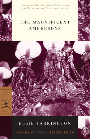 The Magnificent Ambersons Book Cover Picture
