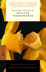 Selected Poetry of William Wordsworth