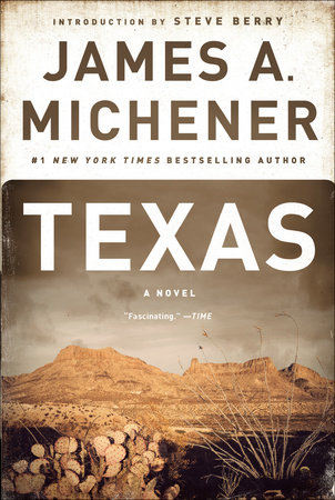 Texas Book Cover Picture