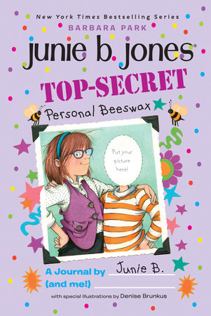 top secret personal beeswax a journal by junie b and me by