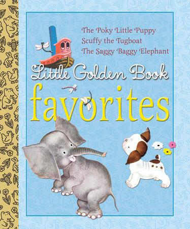 Little Golden Book Favorites #1 by Golden Books