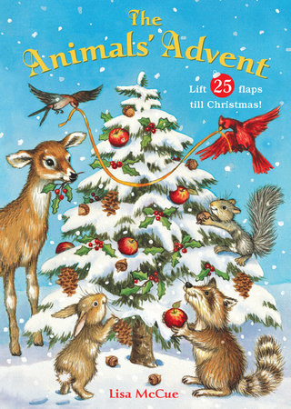 The Animals' Advent by Lisa McCue