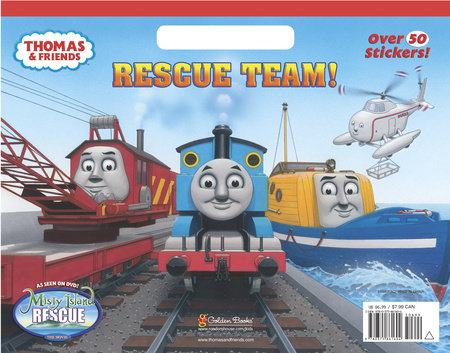 Rescue Team! (Thomas & Friends) by Golden Books