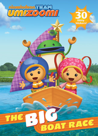 The Big Boat Race! (Team Umizoomi) by Golden Books
