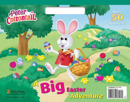 A Big Easter Adventure (Peter Cottontail) by Golden Books