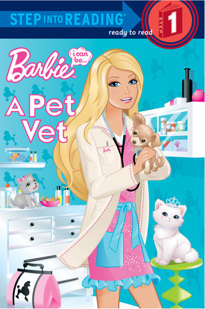 I Can Be a Pet Vet (Barbie) by Mary Man-Kong