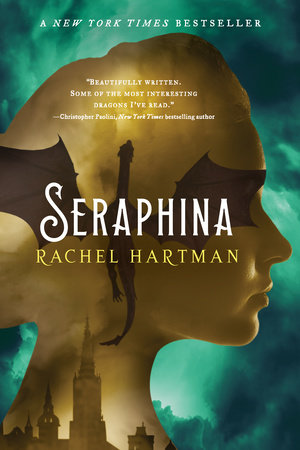 The cover of the book Seraphina
