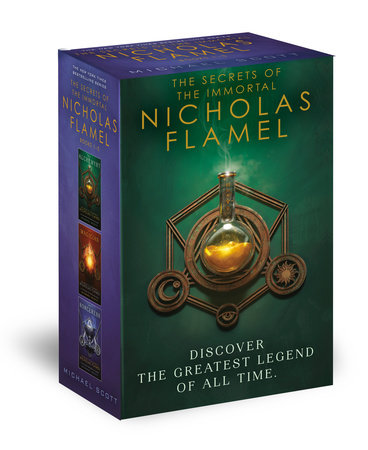 The Secrets of the Immortal Nicholas Flamel: The First Codex by Michael Scott