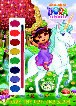 Save the Unicorn King! (Dora the Explorer) by Golden Books