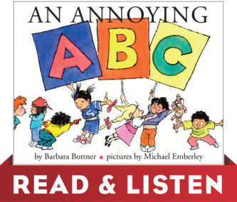 An Annoying ABC: Read & Listen Edition