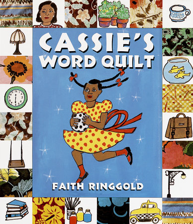 Cassies Word Quilt By Faith Ringgold