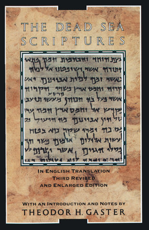 The Dead Sea Scriptures by