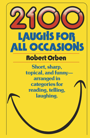 2100 Laughs for All Occasions by Robert Orben