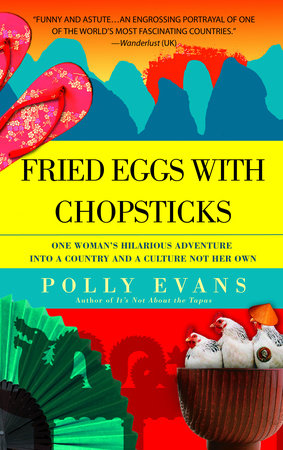 Fried Eggs with Chopsticks by Polly Evans