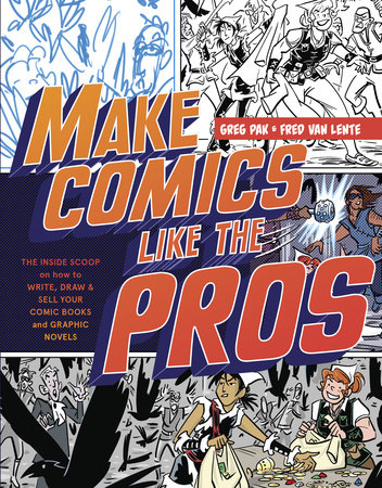 Make Comics Like the Pros Book Cover Picture