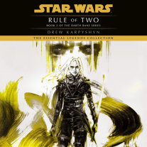 Rule of Two: Star Wars Legends (Darth Bane) Cover