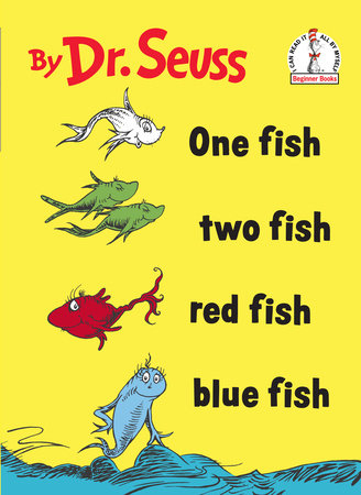 one fish two fish red fish blue fish by dr seuss ForRed Fish Blue Fish Dr Seuss