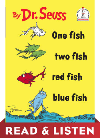 One Fish Two Fish Red Fish Blue Fish: Read & Listen Edition