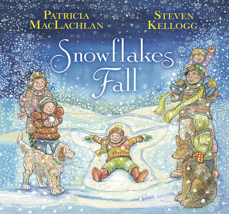 Snowflakes Fall Book Cover Picture