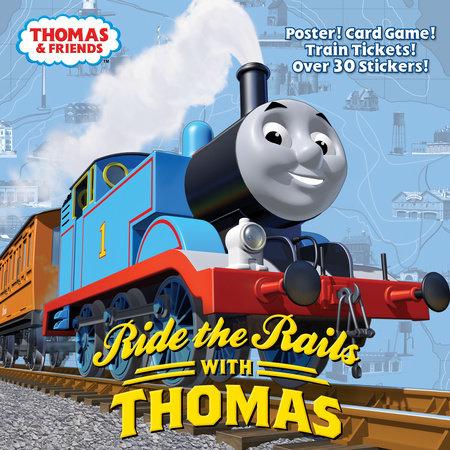 Ride the Rails with Thomas (Thomas & Friends) by Rev. W. Awdry