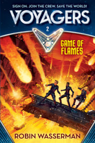 Voyagers: Game of Flames (Book 2)