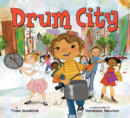 Drum City by Thea Guidone