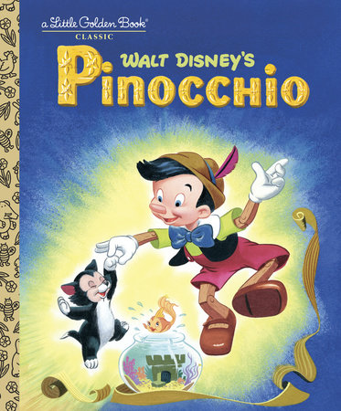 Pinocchio Disney Classic By Steffi Fletcher