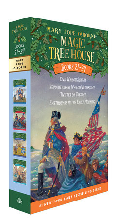 Magic Tree House Volumes 21-24 Boxed Set by Mary Pope Osborne