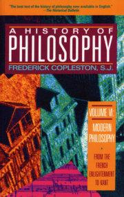 History of Philosophy, Volume 6
