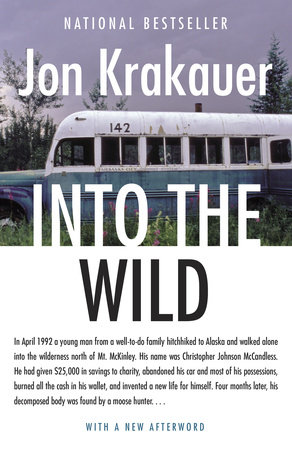 Into the Wild Book Cover Picture