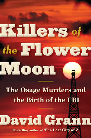 Killers of the Flower Moon Book Cover Picture