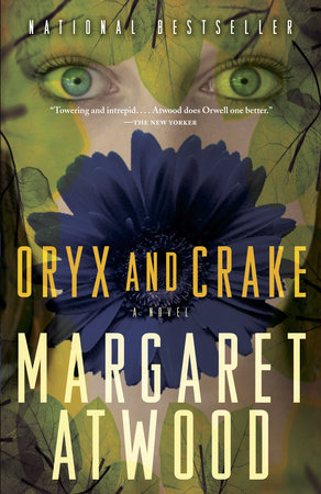 The cover of the book Oryx and Crake