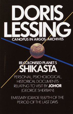 The cover of the book Shikasta