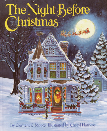 the night before christmas by clement c moore - Night Before Christmas Book